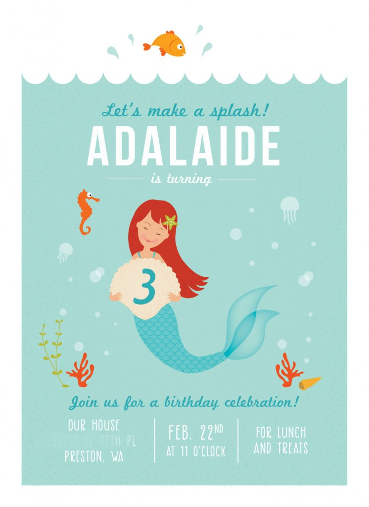 adalaides mermaid invite
